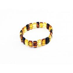 Bracelet d'ambre rectangles...